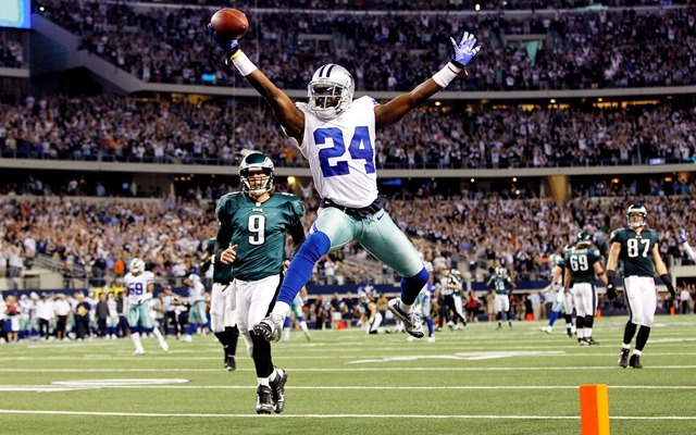 Dallas Cowboys CB Morris Claiborne scores on a 50 yard fumble recovery vs Philadelphia Eagles - The Boys Are Back blog