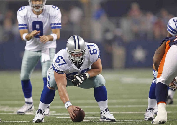 Dallas Cowboys center Phil Costa placed on IR - The Boys Are Back blog