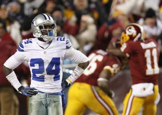 Dallas Cowboys cornerback Morris Claiborne looks away - The Boys Are Back blog
