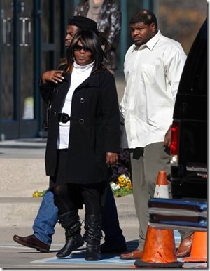 Dallas Cowboys NT Josh Brent arrives at memorial service for teammate Jerry Brown - The Boys Are Back blog