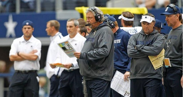 Dallas Cowboys OC Rob Ryan vs Cleveland Browns at Cowboys Stadium 2012 - The Boys Are Back blog