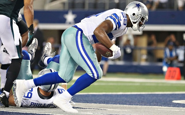 Dallas Cowboys RB DeMarco Murray runs against the Philadelphia Eagles - The Boys Are Back blog