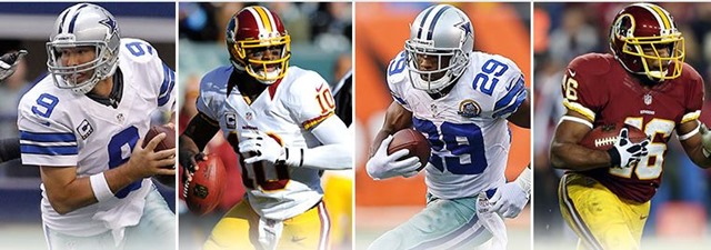 Dallas Cowboys vs Washington Redskins - NFC East rivals play for division title - The Boys Are Back blog