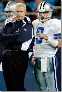 Flashback 2006 - Tony Romo's first start as Dallas Cowboys QB - Bill Parcells - The Boys Are Back blog