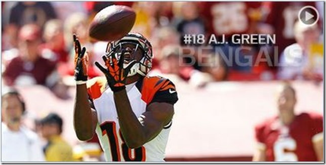Know the Enemy - A. J. Green - Cincinnati Bengals vs Dallas Cowboys - The Boys Are Back blog