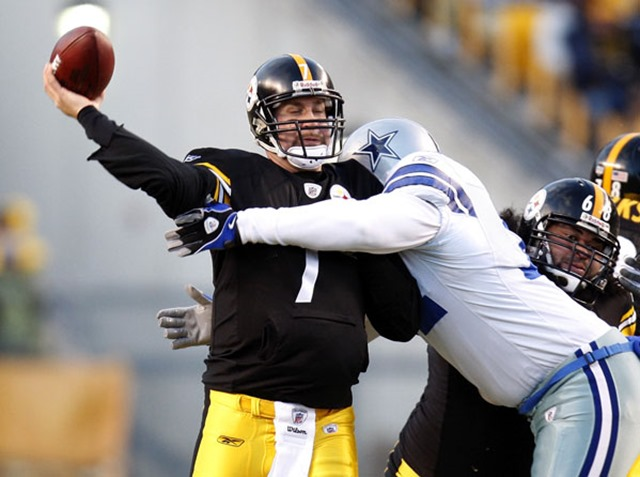 Let's hope Big Ben is the NFC East Dallas Cowboys tackling dummy this weekend - The Boys Are Back blog