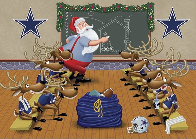 Merry Christmas from The Boys Are Back blog - Happy Holidays 2012 - Dallas Cowboys