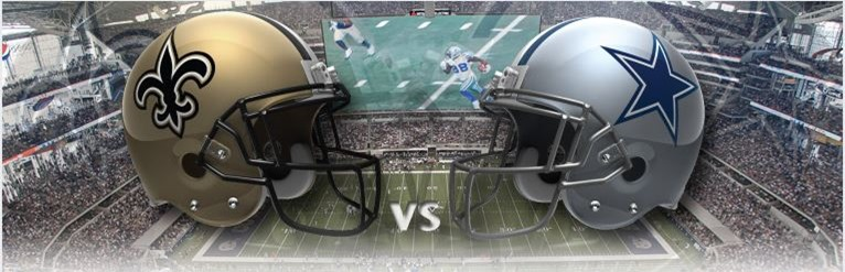 New Orleans Saints vs Dallas Cowboys at Cowboys Stadium - The Boys Are Back blog