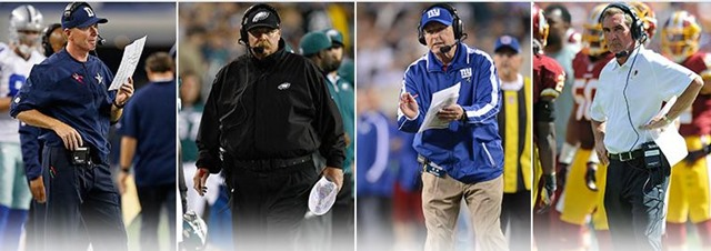 NFC East Division Head Coaches - The Boys Are Back blog
