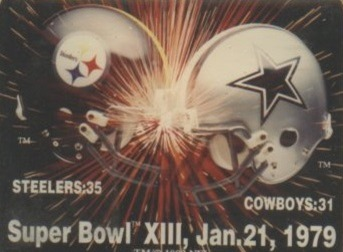 Super Bowl X111 - Steelers vs Cowboys - The Boys Are Back blog