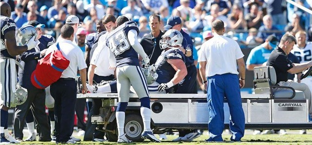 Dallas Cowboys center Phil Costa injured vs. Carolina Panthers - The Boys Are Back blog