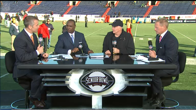 Dallas Cowboys owner Jerry Jones joins NFL Network at the Senior Bowl - The Boys Are Back blog