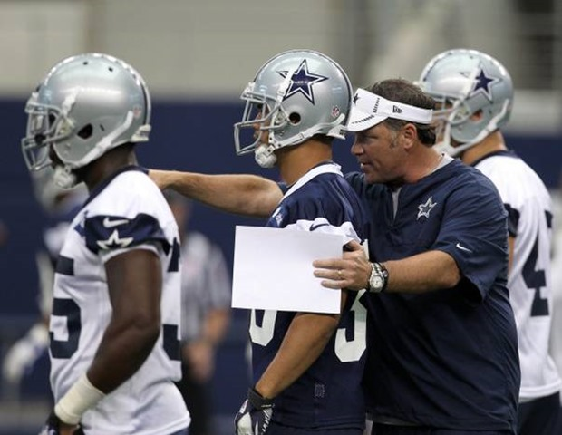 Dallas Cowboys ST coach Joe DeCamillis works with players in OTA's - The Boys Are Back blog