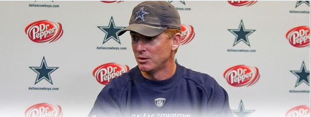Press Conference - Dallas Cowboys coach Jason Garrett - The Boys Are Back blog