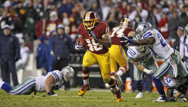 Washington Redskins running back Alfred Morris leaves Cowboy defenders behind - The Boys Are Back blog