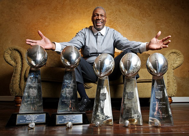 Former Cowboys defensive end Charles Haley and his five Super Bowl rings belong in the Pro Football Hall of Fame