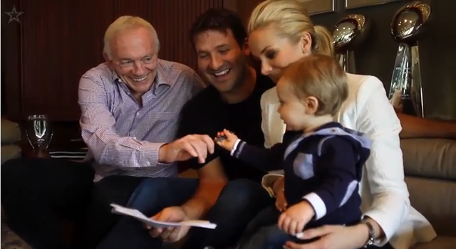 COWBOY FOR LIFE - Tony Romo agrees to six-year, $108 million contract extension - Jerry Jones - The Boys Are Back blog 2013