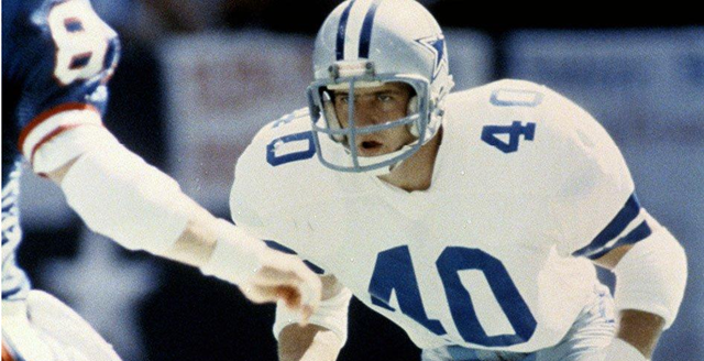 Dallas Cowboys safety Bill Bates started 47 games, mostly from 1986-88 - The Boys Are Back blog 2013