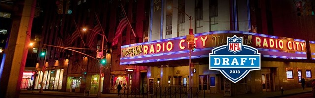 nfl draft 2013 - radio city music hall - the boys are back blog