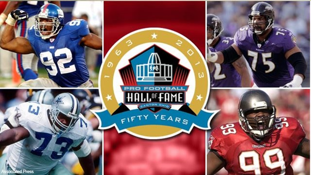 nfl pro football hall of fame - fifty years - the boys are back blog