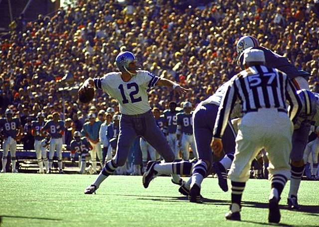 Dallas Cowboys QB Roger Staubach - Playing in New Orleans - The Boys Are Back blog