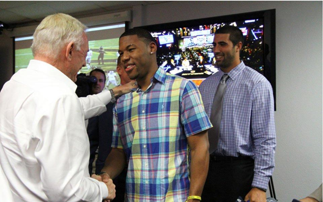 Dallas Cowboys' top three 2013 Draft picks meet Jerry Jones at Valley Ranch NFL Draft war room - The Boys Are Back blog