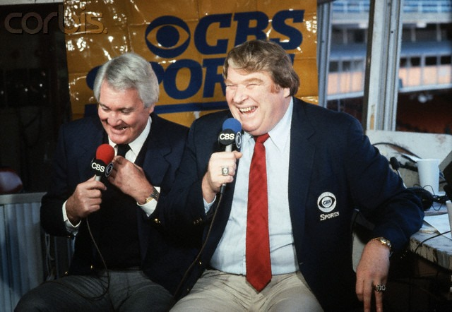 John Madden and Pat Summerall broadcast with CBS Sports - The Boys Are Back blog