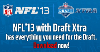 NFL Draft 2013 - Draft Xtra App from NFL - The Boys Are Back blog 2013