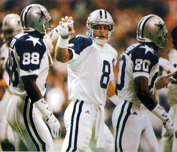 Troy Aikman Michael Irvin Dallas Cowboys - The Boys Are Back blog