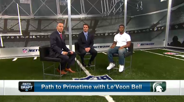VIDEO - Le'Veon Bell on Path To The Draft - The Boys Are Back blog 2013