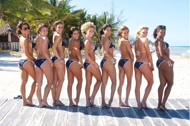 Dallas Cowboys Cheerleaders Calendar Shoot - Team Scuba 3 - The Boys Are Back blog 2013
