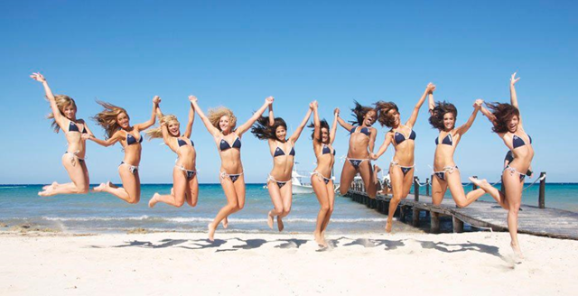 Dallas Cowboys Cheerleaders Calendar Shoot - Team Scuba 7 - The Boys Are Back blog 2013
