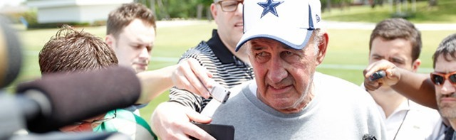 Dallas Cowboys defensive coordinator Monte Kiffin on returning to the practice field for the first time in three years - The Boys Are Back blog 2013