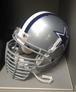 Dallas Cowboys defensive end DeMarcus Ware unveils his eight-bar facemask he'll wear in the 2013-2014 season - The Boys Are Back blog