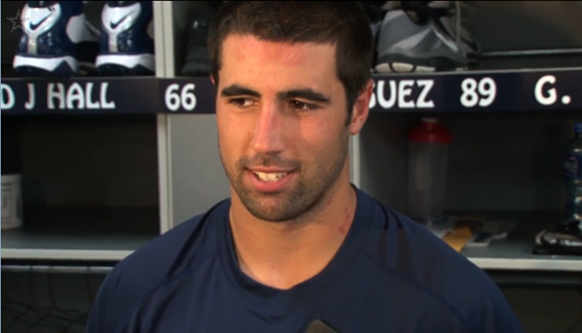 Dallas Cowboys tight end Gavin Escobar - Excited To Learn From Jason Witten - Click HERE to watch video - The Boys Are Back blog 2013