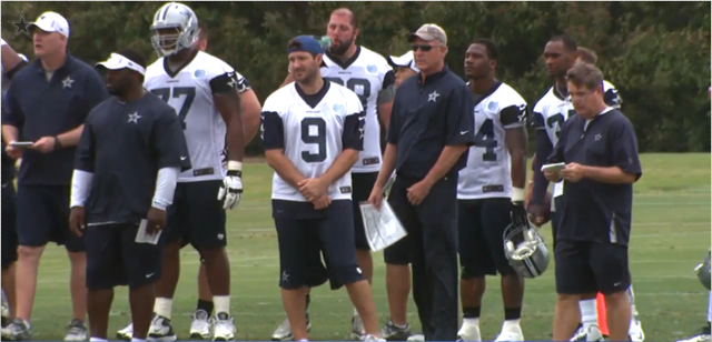 Dallas Cowboys week 1 OTA's - The Boys Are Back blog 2013
