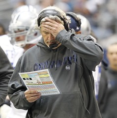 defensive coordinator rob ryan walks the sideline during the game against the new orleans saints - the boys are back blog