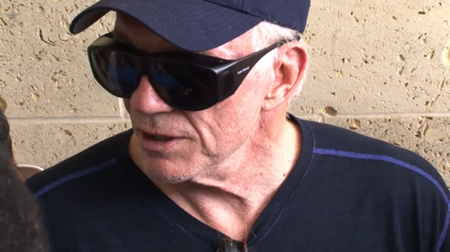 Jerry Jones undergoes eye surgery - The Boys Are Back blog 2013