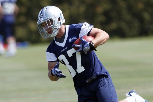 """""""Matt Johnson's ball skills are incredible,"""" Cowboys cornerback Morris Claiborne said. """"When the ball is in the air, he knows how to go up and play it."""""""