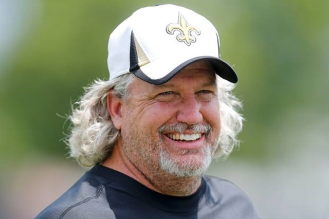 New Orleans Saints defensive coordinator Rob Ryan during 2013 organized team activities at the Saints training facility - The Boys Are Back blog