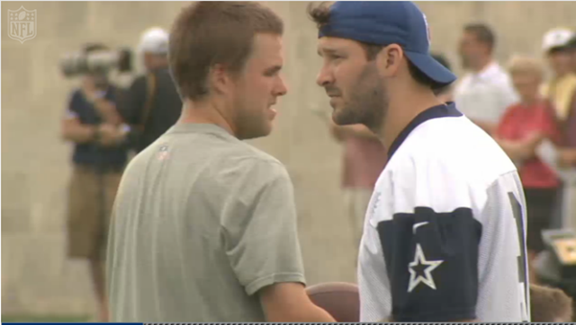 TIME ON HIS SIDE - Tony Romo will get extra time with Dallas Cowboys rookies in June, July - The Boys Are Back blog 2013