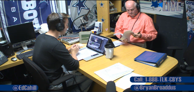 VIDEO - The Draft Show with Bryan Broaddus and Ed Cahill - The Boys Are Back blog 2013