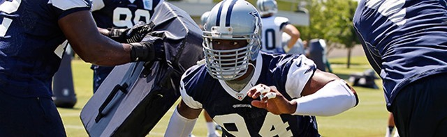 Dallas Cowboys DE DeMarcus Ware 2012 season dealt with more injuries than he could have possibly imagined - The Boys Are Back blog