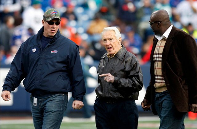 Jim Kelly, Marv Levy, and Bruce Smith 2009 - The Boys Are Back blog