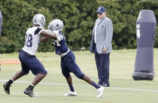 MAKING EACH OTHER BETTER - Dez Bryant made spectacular catches, because Morris Claiborne made him