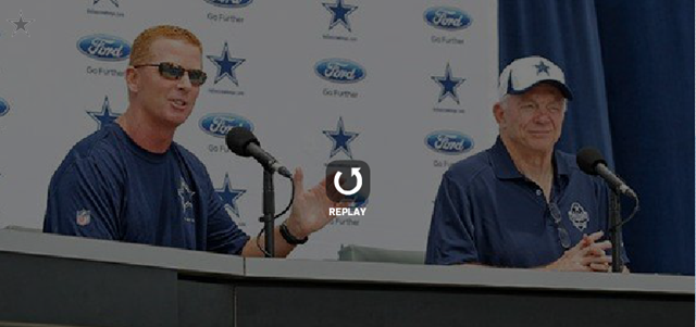 2013 Dallas Cowboys opening training camp press conference - Oxnard CA - The Boys Are Back blog