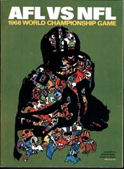 AFL NFL 1968 World Championship Game - Super Bowl - The Boys Are Back blog