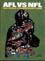 AFL NFL 1968 World Championship Game - Super Bowl - The Boys Are Back blog