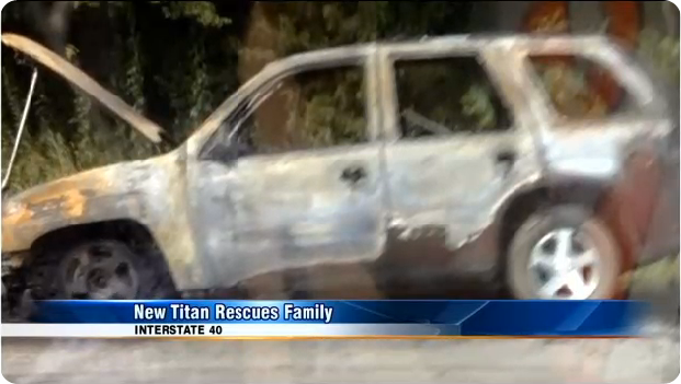AROUND THE NFL - Titan hopeful Jonathan Willard pulls family, dog from burning car - The Boys Are Back blog 2013
