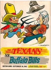 Buffalo Bills vs. Dallas Texans 1962 - The Boys Are Back blog